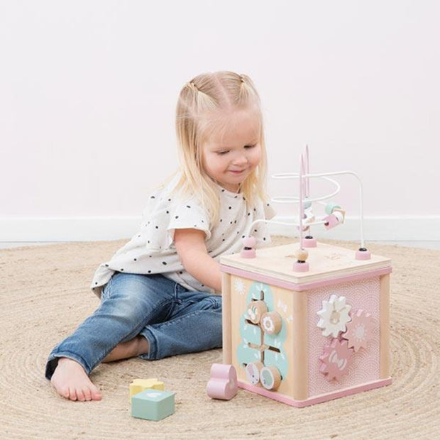 Little Dutch Activity Cube - Pink Little Dutch