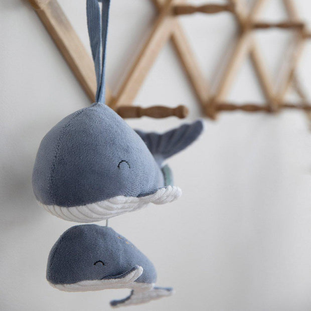 Little Dutch Music Box Whale - Ocean Blue