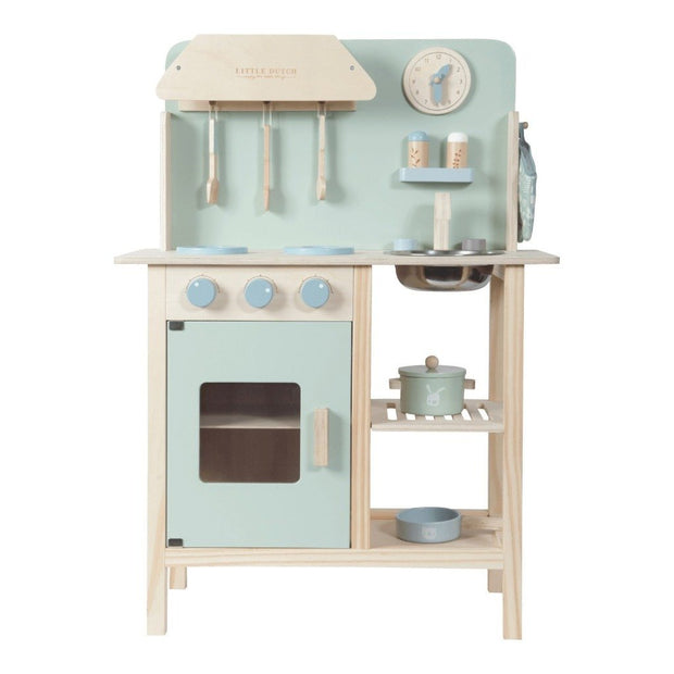 Little Dutch Wooden Play Kitchen - Mint Little Dutch