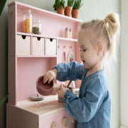 Little Dutch Wooden Play Kitchen - Pink Little Dutch
