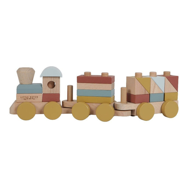 Little Dutch Wooden Stacking Train Little Dutch
