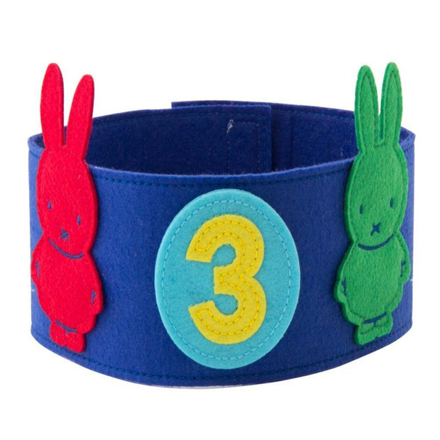 Miffy Felt Crown - Blue Global Affairs