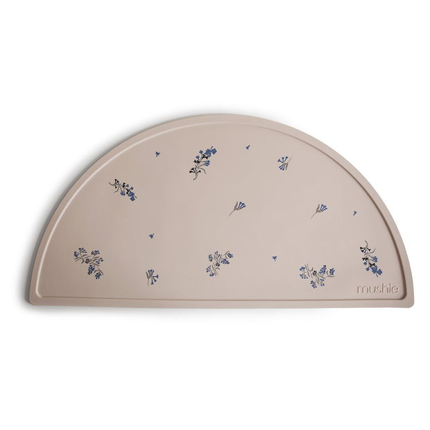 Mushie Silicone Placemat - Lilac Flowers Mushie