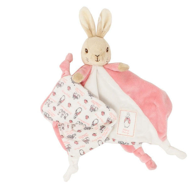 Personalised Flopsy Bunny Clothing + Comfort Blanket Gift Set