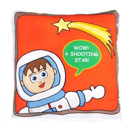 Space Bots Quillow Blanket Bebelephant