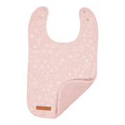 Little Dutch Bib Wild Flowers Pink