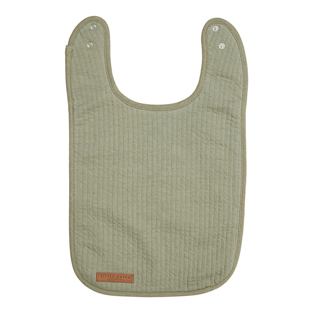Little Dutch Bib Pure Olive