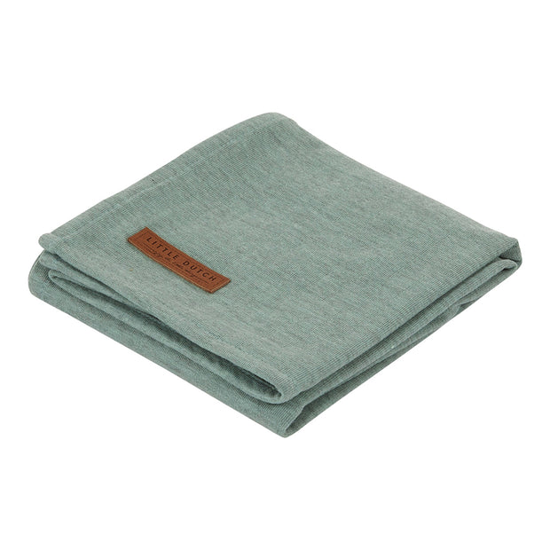 Little Dutch Swaddle Pure Mint (120cm x 120cm)
