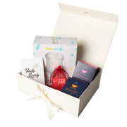 Luxury Gift Set - Baby Art My Lovely Belly + HotTea Mama Final Push/Get Up & Glow Pregnancy Tea