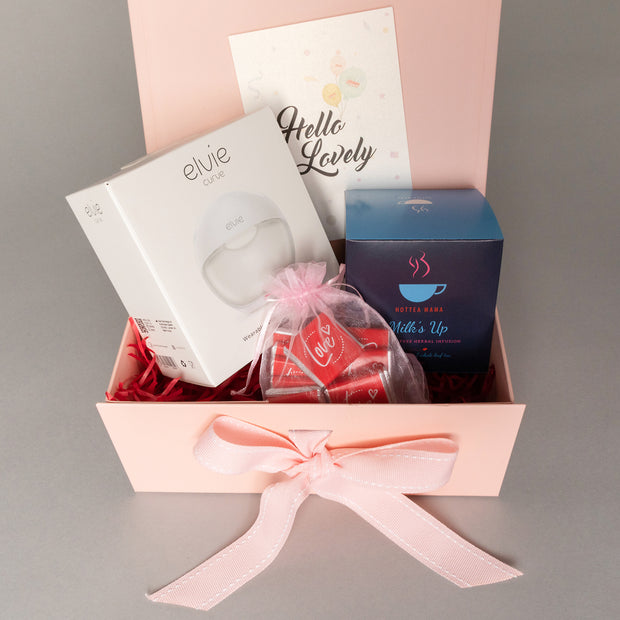 Luxury Gift Set - Elvie Curve + HotTea Mama Milk's Up