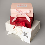 Luxury Gift Set - Miilk Muslin Rainbow + HotTea Mama Milk's Up/Newborn Wonder