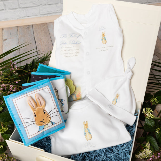 Personalised Peter Rabbit Clothing + Activity Book Gift Set