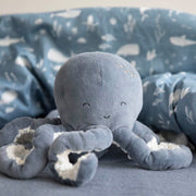 Little Dutch Cuddly Toy Octopus – Ocean Blue