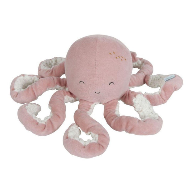 Little Dutch Cuddly Toy Octopus – Ocean Pink