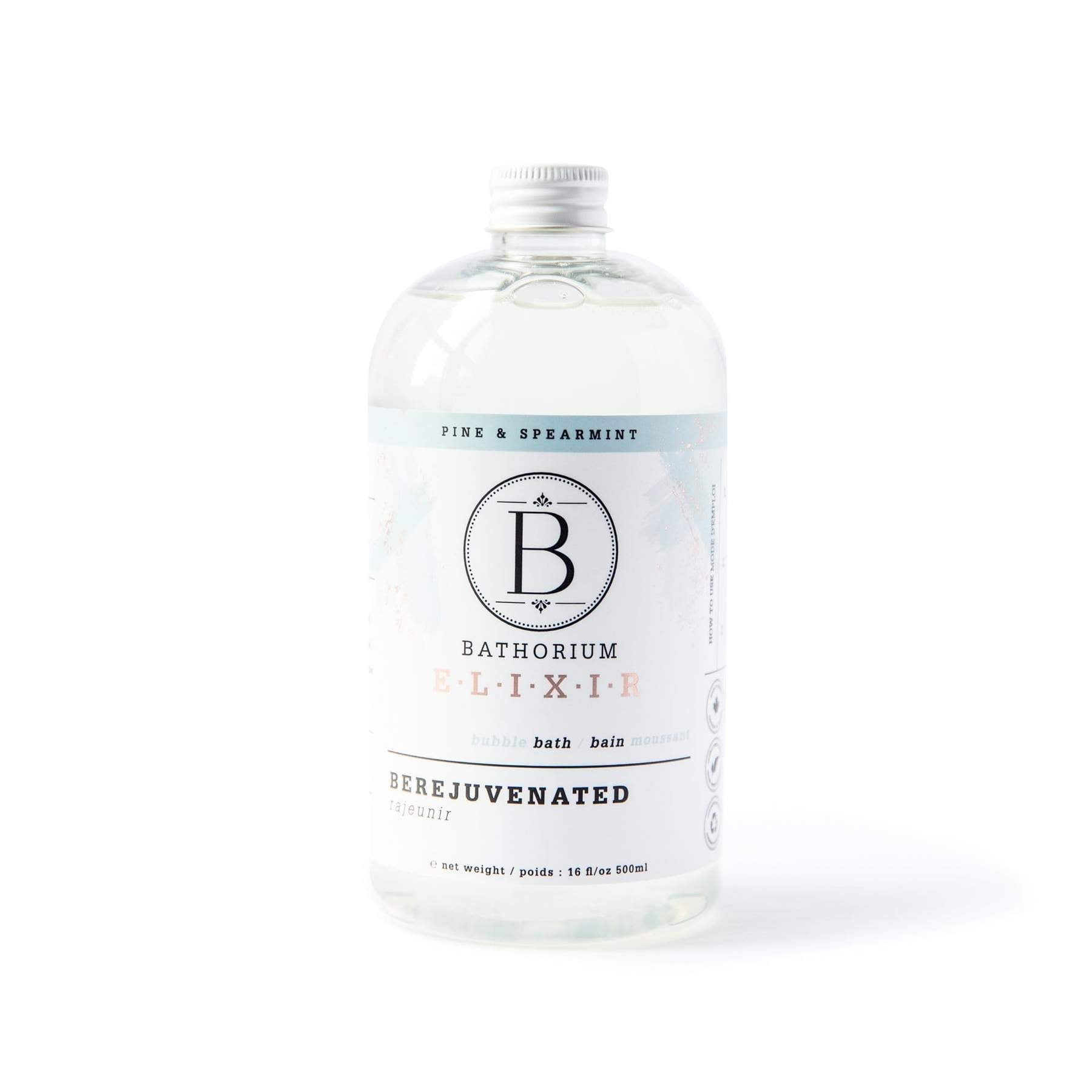 PINE, CEDARWOOD AND PEPPERMINT BUBBLE BATH OIL