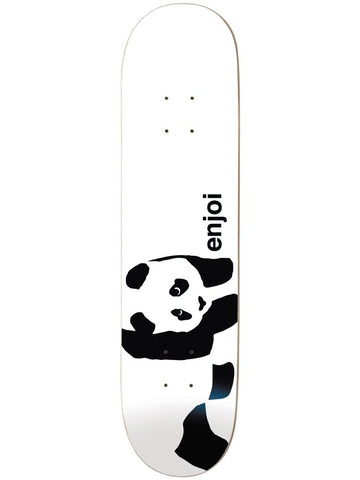 Whitey Panda Logo Wide White