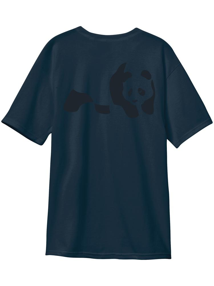 panda custom dye midnight navy s/s premium tee