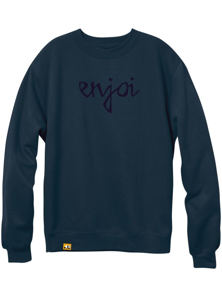 car crash midnight navy premium crew sweatshirt