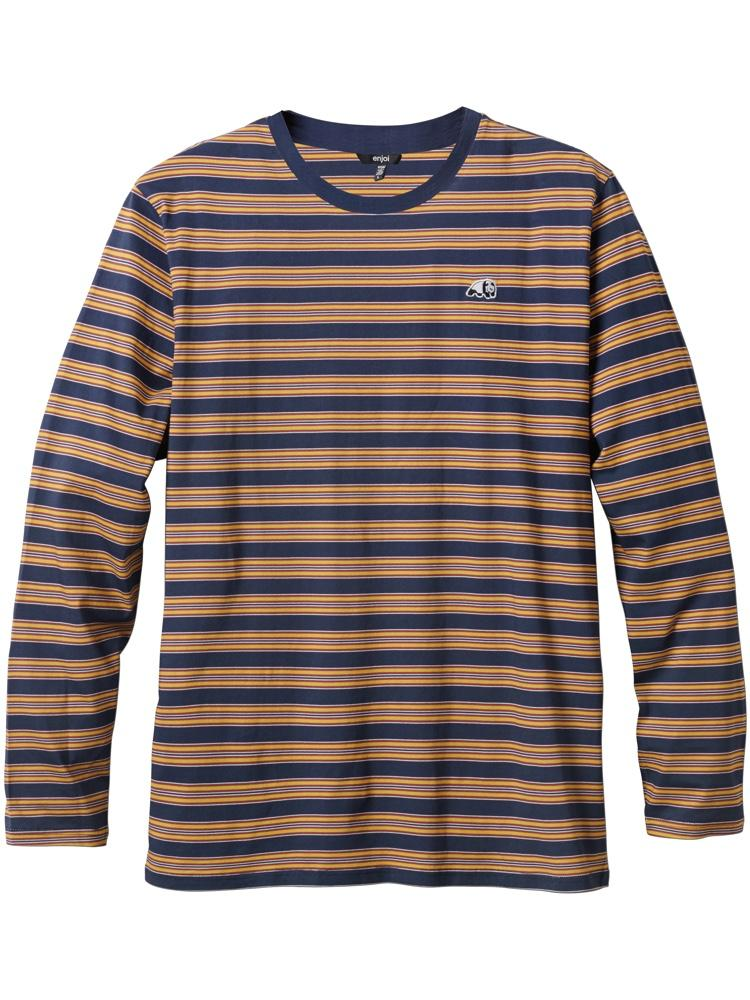 invert navy long sleeve crew shirt