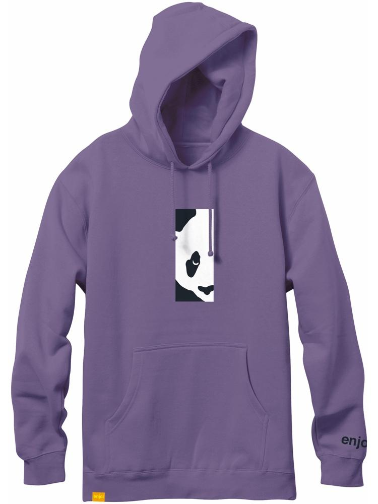 box panda custom dye grape hoodie