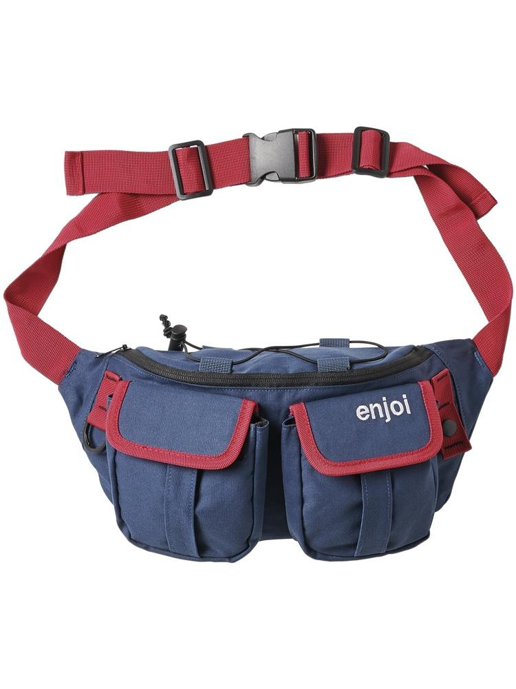 hip egg bag navy fanny pack