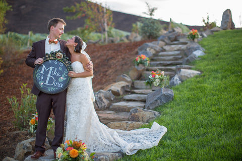 Outdoor Vineyard Wedding Wenatchee