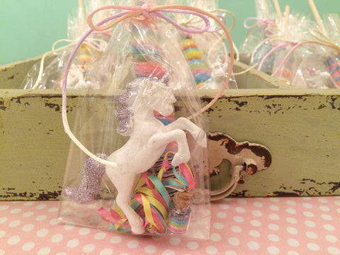 unicorn themed favors
