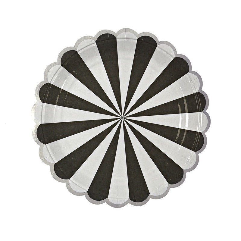 Toot Sweet Black Stripe Small Plate