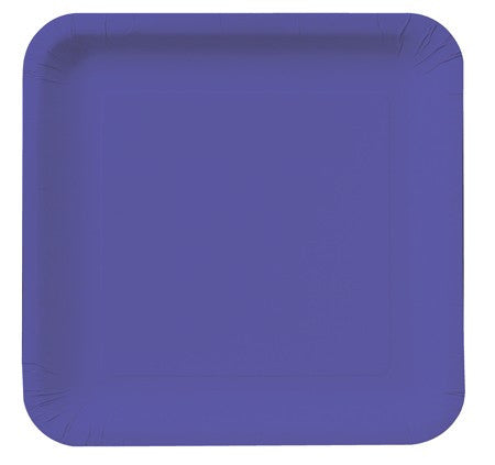 Square Plates :: Purple