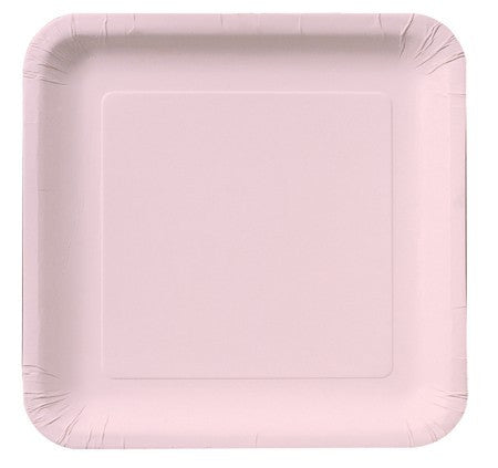 Square Plates :: Classic Pink