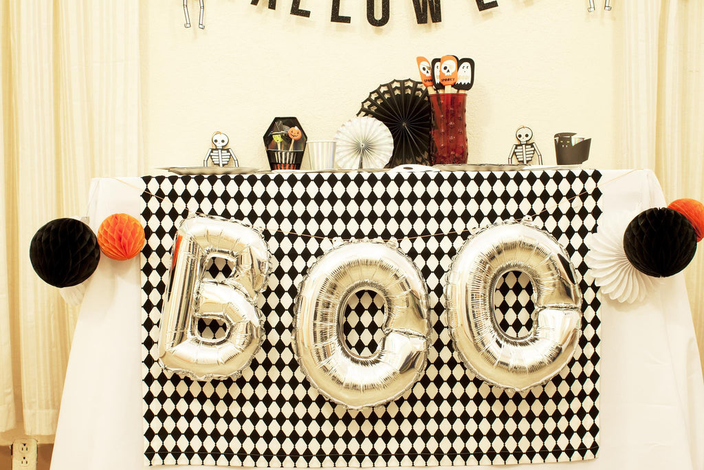 Boo Balloon Garland Kit