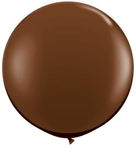 "Chocolate Brown 36"" Balloon"