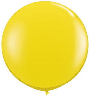 "Citrine Yellow 36"" Balloon"