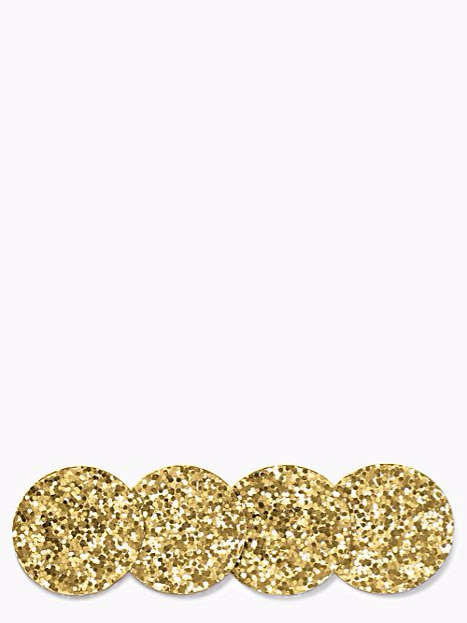 Kate Spade Gold Coaster Set