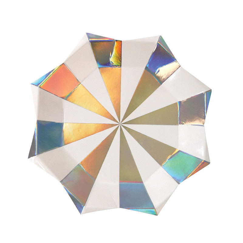 Holographic Large Star Plate