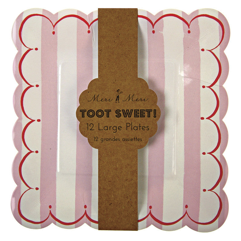 Toot Sweet Pink Large Plate