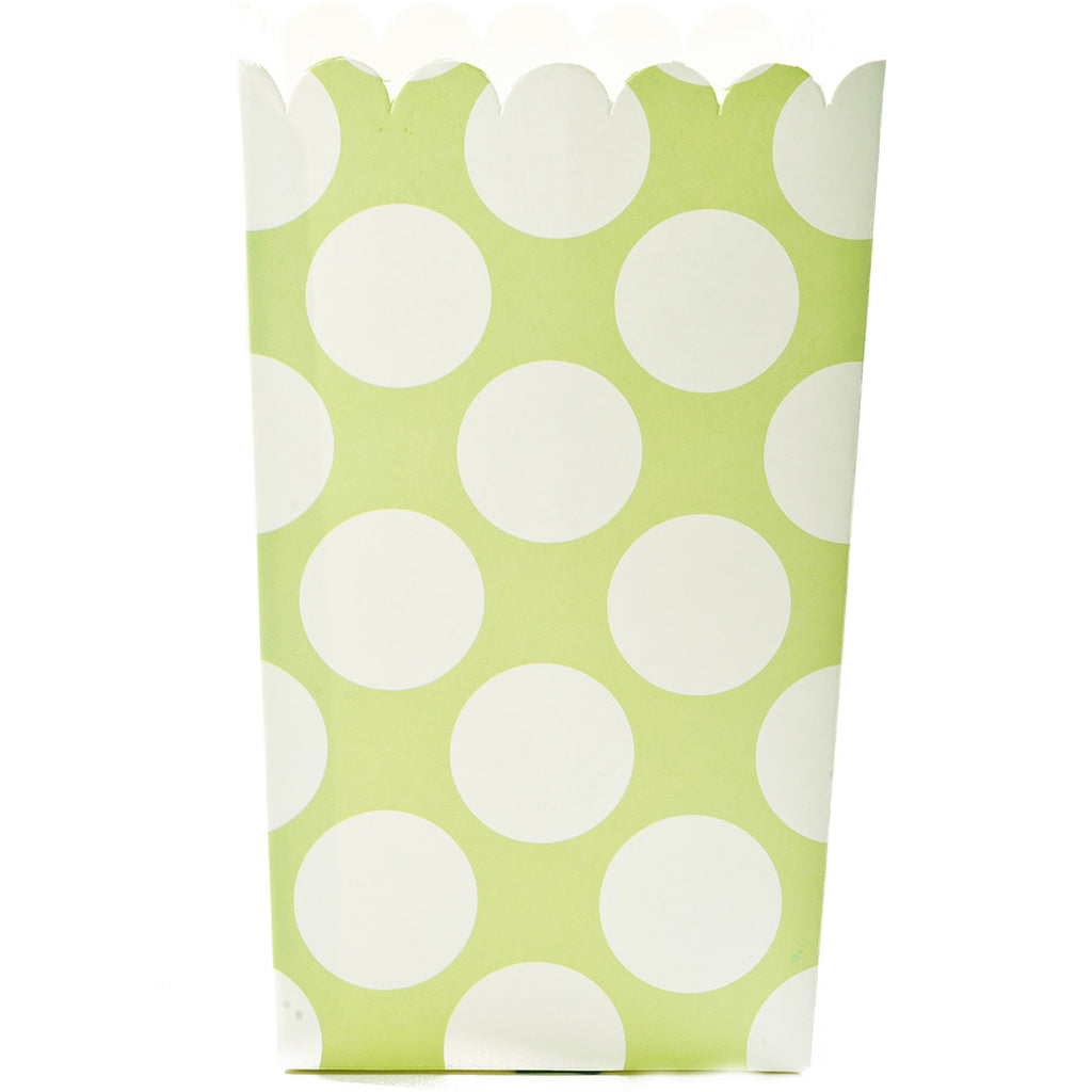 Large Popcorn Boxes :: Lime