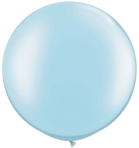 "Light Blue 30"" Pearlized Balloon"