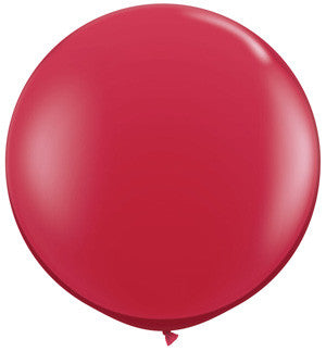 "Ruby Red 36"" Balloon"