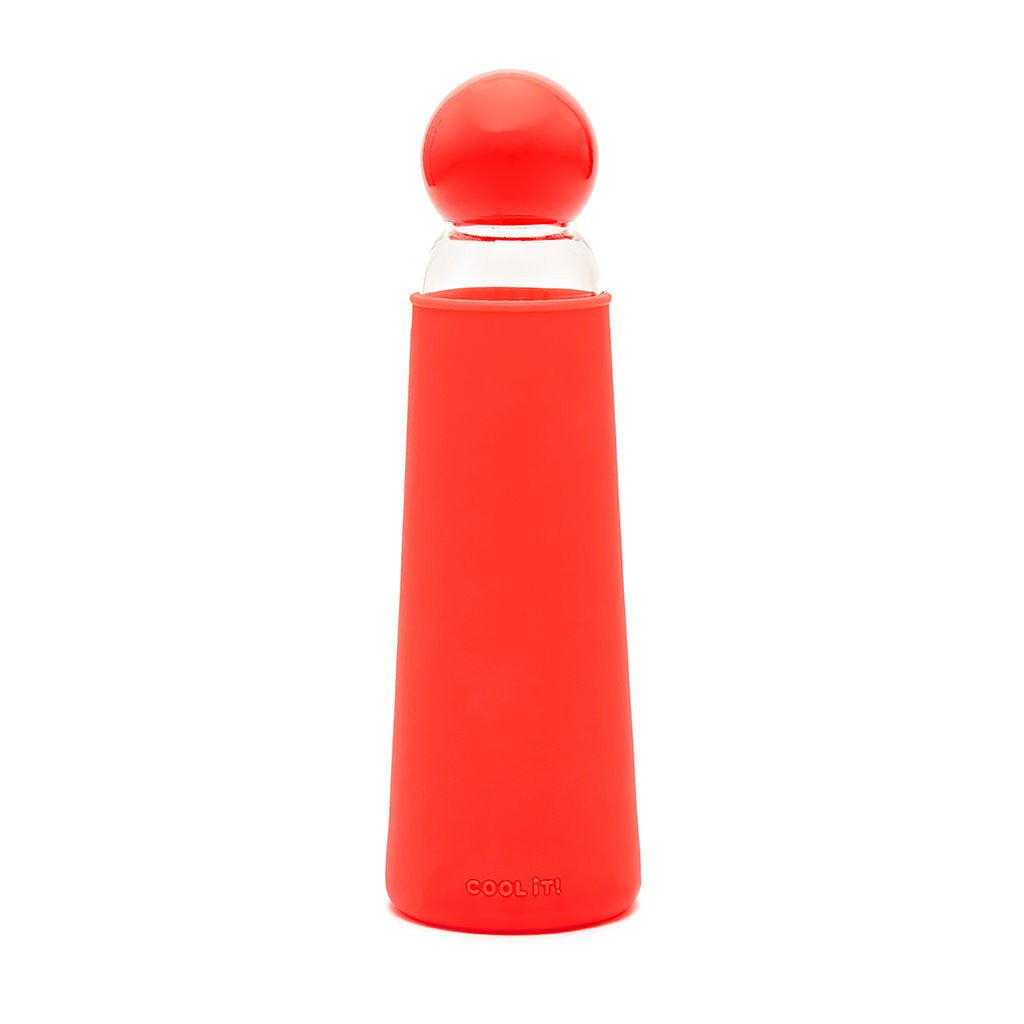 Ban.do Glass Water Bottle :: Red