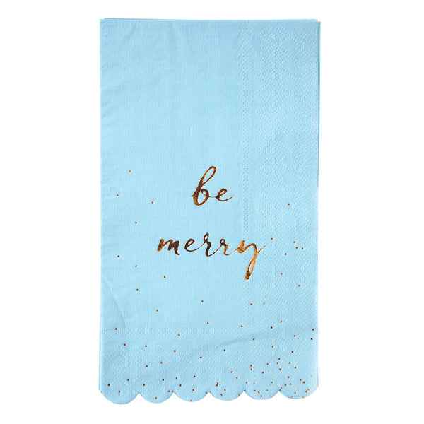 Be Merry Guest Napkins