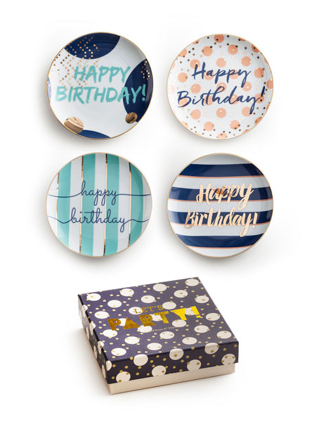 Let's Party Birthday Plates