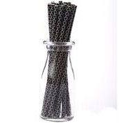Quadrafoil Paper Straw :: Black