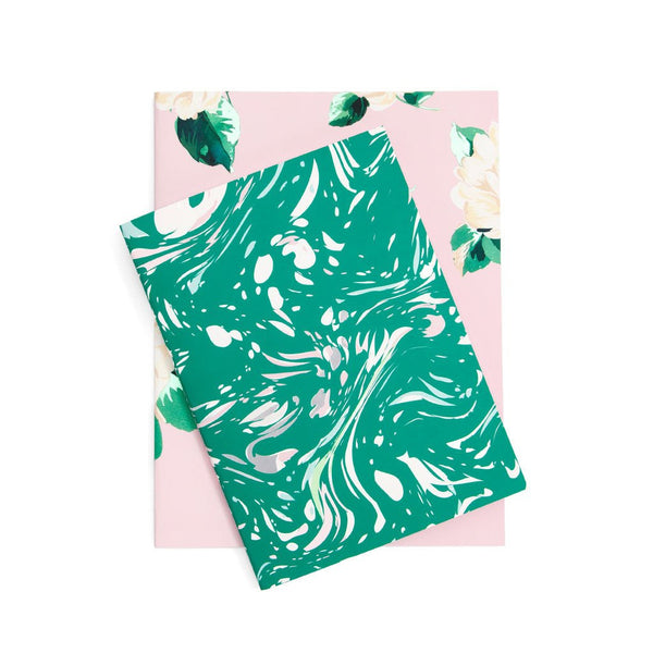 Good Ideas Notebook Set :: Lady of Leisure and Marble, Jade