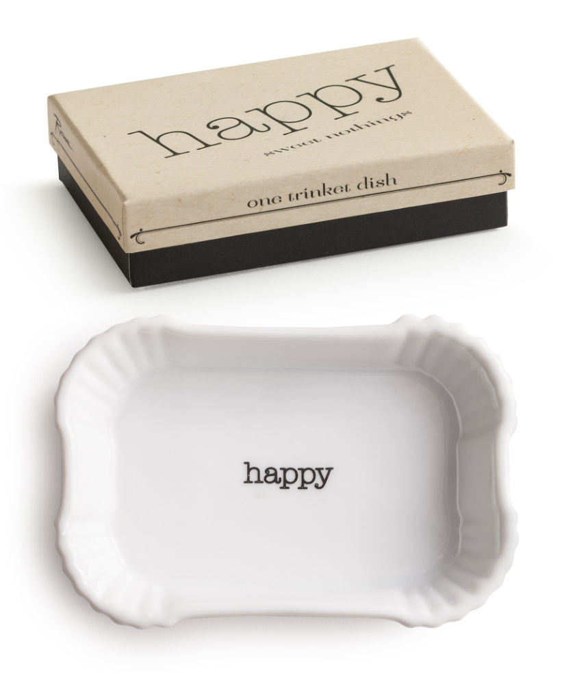 Happy Trinket Dish
