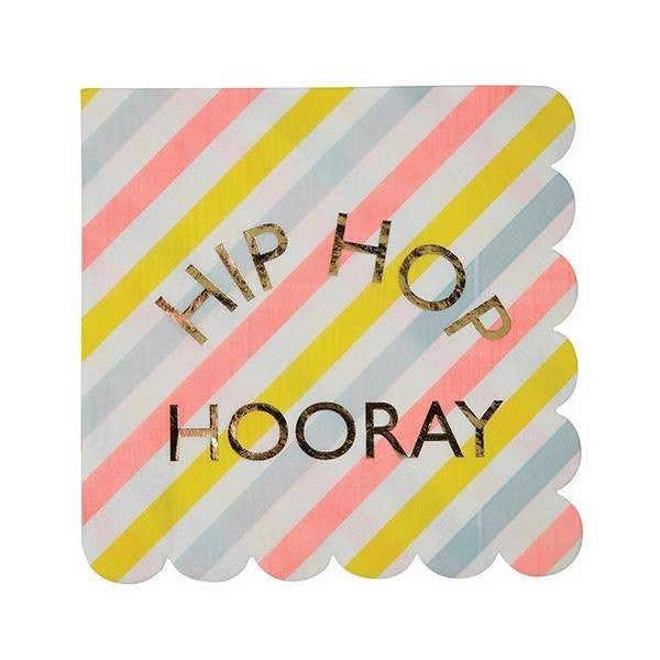 Hip Hop Hooray Napkin