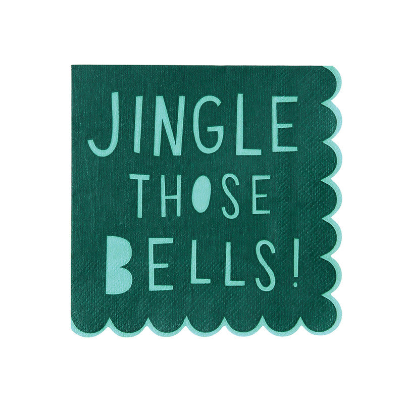 Jingle Those Bells Small Napkins