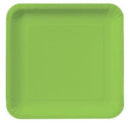 Square Plates :: Fresh Lime
