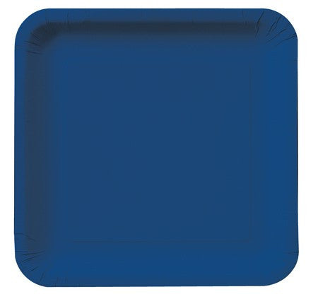 Square Plates :: Navy