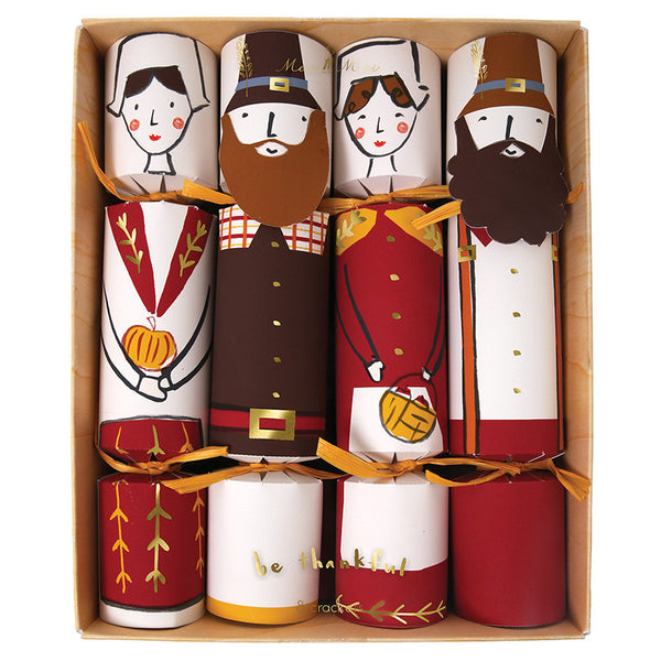 Thanksgiving Pilgrim Character Crackers